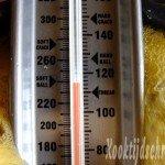 Hou de temperatuur goed in de gaten