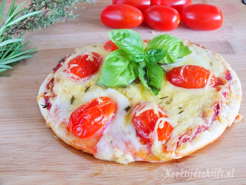 pizzadeeg maken snel