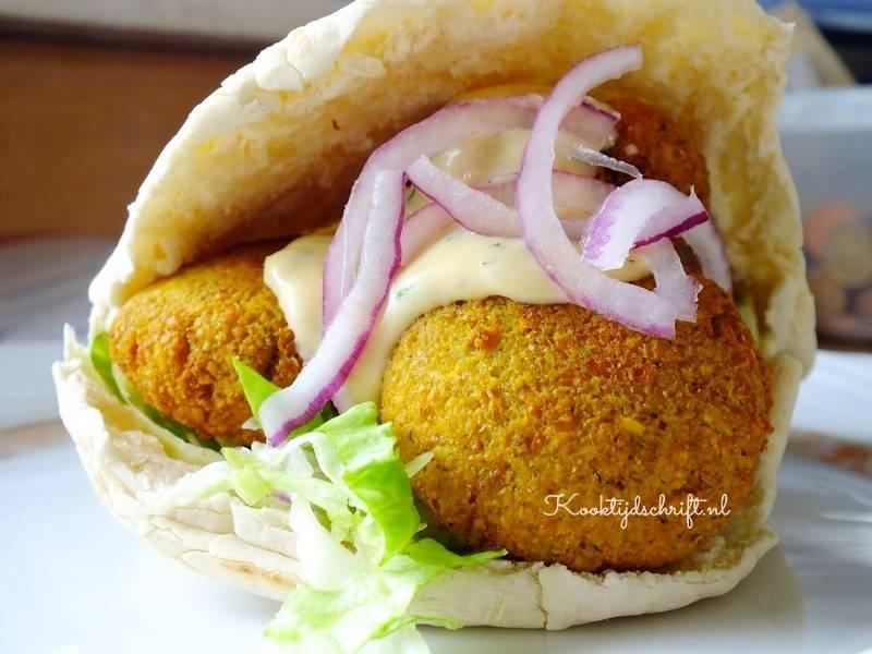 falafel-broodje