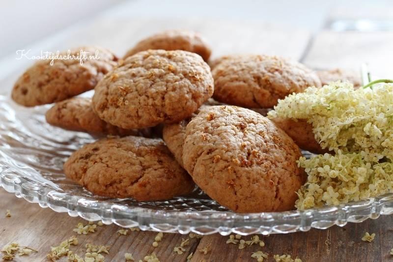 vlierbloesem koekjes