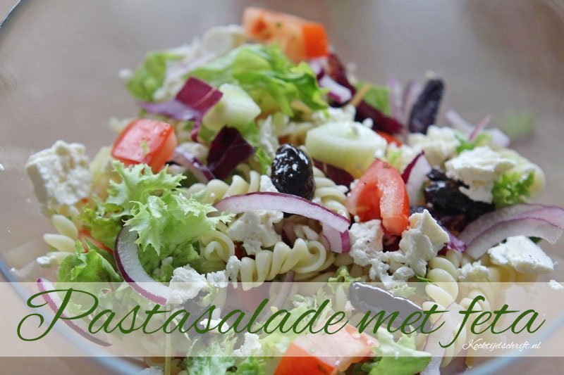 pastasalade met feta