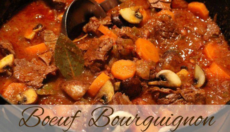Boeuf-bourguignon