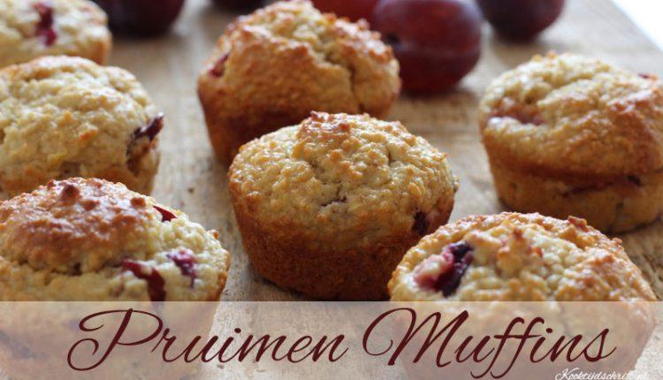 havermout pruimen muffins   kooktijdschrift.nl