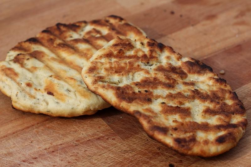 Platbrood van de BBQ 3