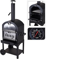 Maxx Pizza oven - Smoker barbecue houtskool