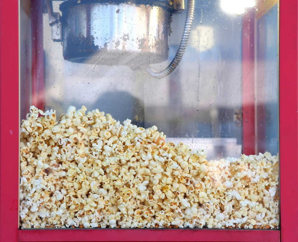 popcorn automaat