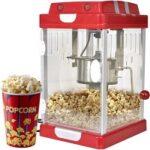 6. vidaXL - Popcornmachine 50177